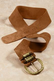 Pueblo Contoured Leather Belt