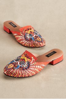 Saachi Silk Slides
