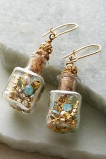 Treasure in A Bottle Earrings