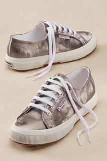 Superga Camo Metallic Sneakers