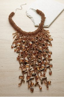 Amber Waterfalls Necklace