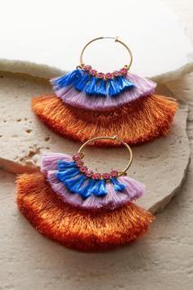 Cha Cha Hoop Earrings