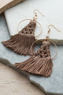 Fiona Fringe Earrings