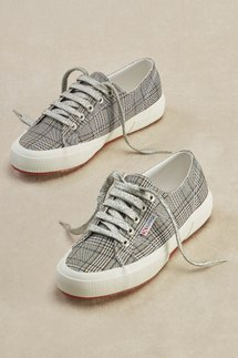 Superga Plaid Sneakers