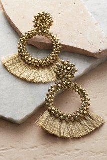 Greta Fringe Earrings