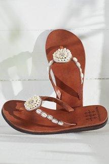 Shellburst Sandals