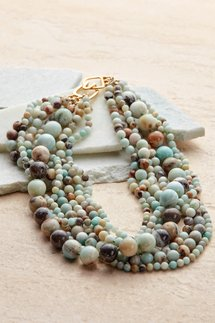 Sienna Amazonite Necklace