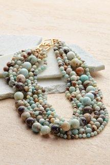Sienna Amazonite Necklace