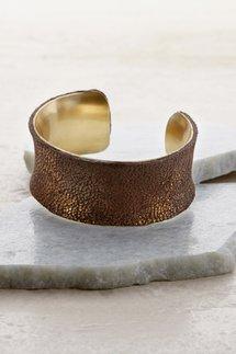 Snakeskin Copper Cuff