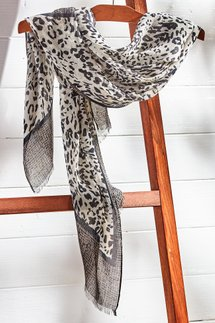 Exotic Print Scarf