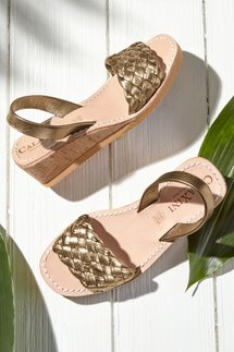 Simply Perfect Braided Wedges