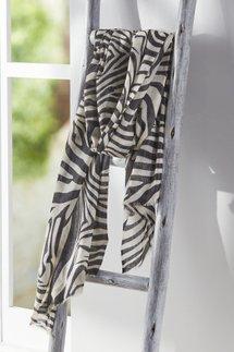 Zebra Shine Scarf