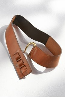 Stas Adjustable Leather Belt