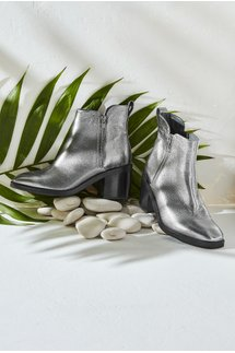 Cadie Go-To Leather Bootie