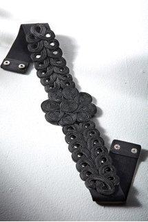 Braided Rope Stretch Belt