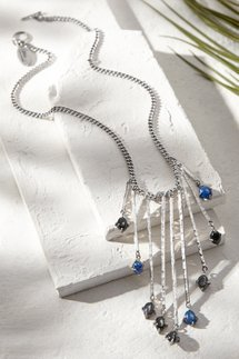 Cascading Stones Necklace