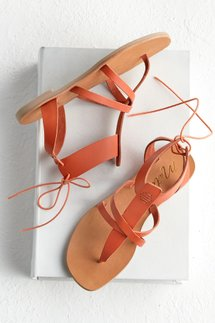 Ankle Wrap Flat Sandal