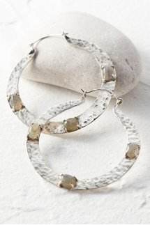 Stone Hammered Hoops