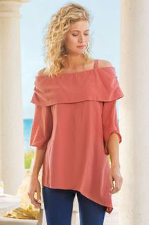 Intrinsic Gauze Top
