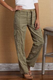 Downtown Embroidered Pants