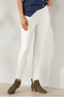 Lean Line Ponte Stirrup Pants