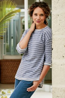 Sail Stripe Pullover