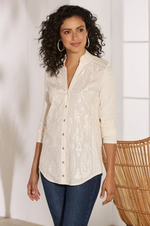 Primavera Embroidered Shirt
