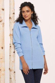Brooklyn Zip Sweater