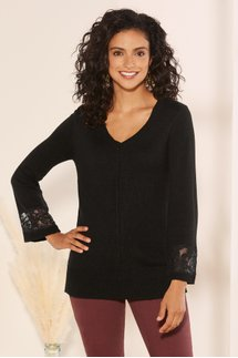 Touch of Lace Pullover