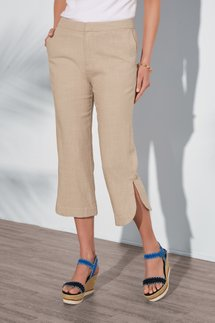 Baleares Straight Leg Crop Pants