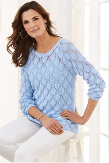 Soft Palms Sweater & Cami