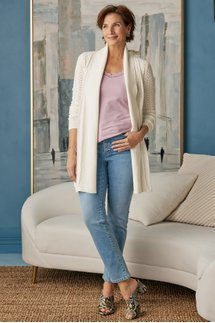 Ultimate Denim Exposed Button Straight Jeans