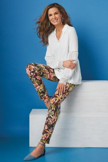 Superla Stretch Pull-on Rossy Skinny Ankle Pants