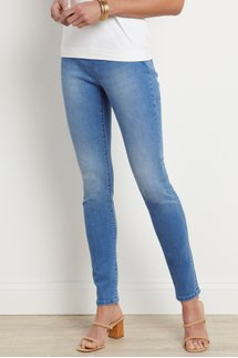 Supremely Soft Pull-On Skinny Jeans