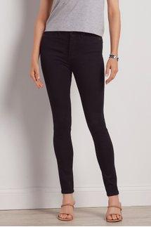Ultimate Denim Black High-Rise Skinny Jeans