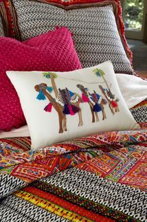 Camel Caravan Pillow