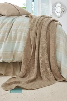 Veranda Linen Throw