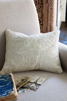Toulouse Embroidered Pillow