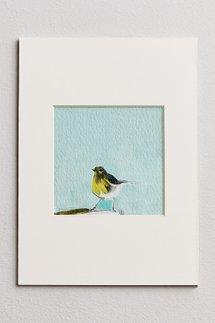 Birdie Matted Print