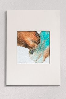 Nuzzle Matted Print