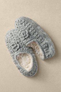 Pointelle Slipper Socks