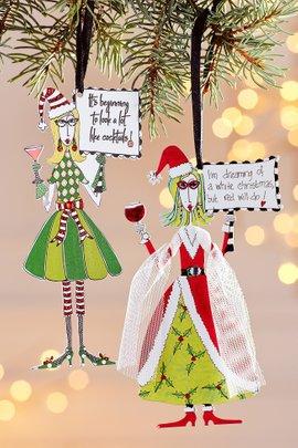 Sassy Sayings Ornament