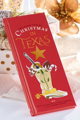 The Night Before Christmas in Texas Book