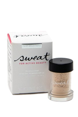 Sweat Cosmetics SPF 30 Translucent Mineral Powder Refill