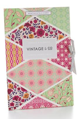 Heathcote & Ivory Vintage & Co. Fabric & Flowers Drawer Liners