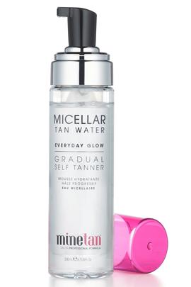 Minetan Micellar Tan Water Everyday Glow Gradual Self Tan