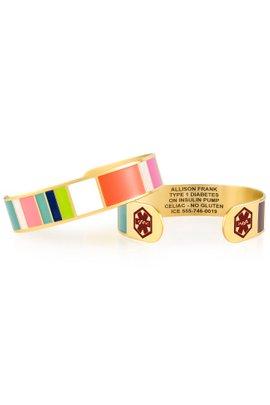 Lauren's Hope Key West Cuff Medical ID Bracelet