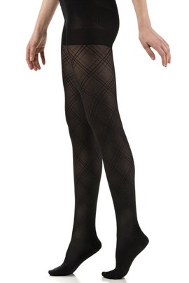 Patterned Compression Tights