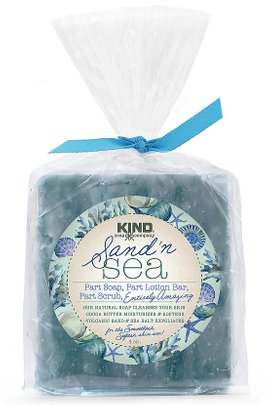 Kind Soap Company Sand & Sea Bar