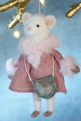 Lena Lamb Ornament